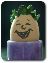 Laughing egg