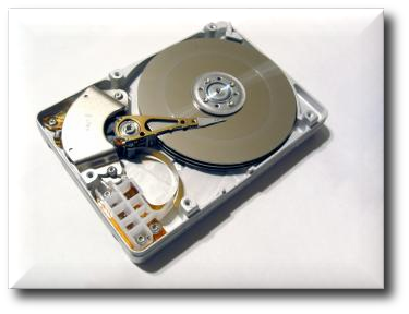 Exposed hard-drive