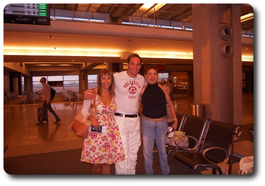 Pre-wedding flight