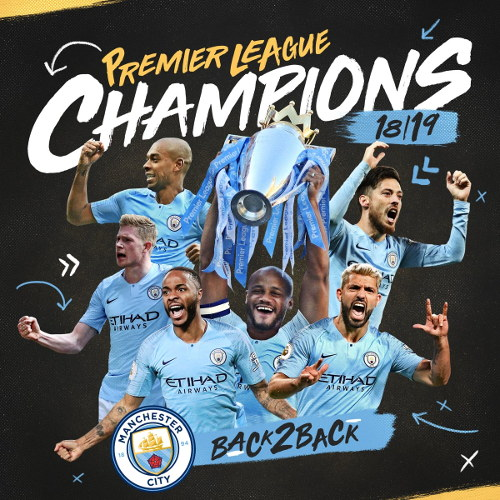 Manchester City champions