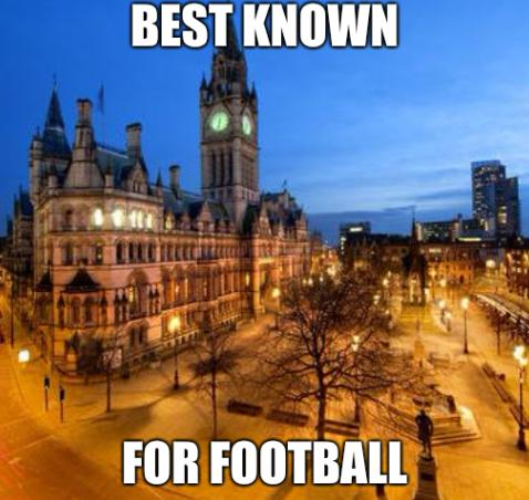 Best known for football