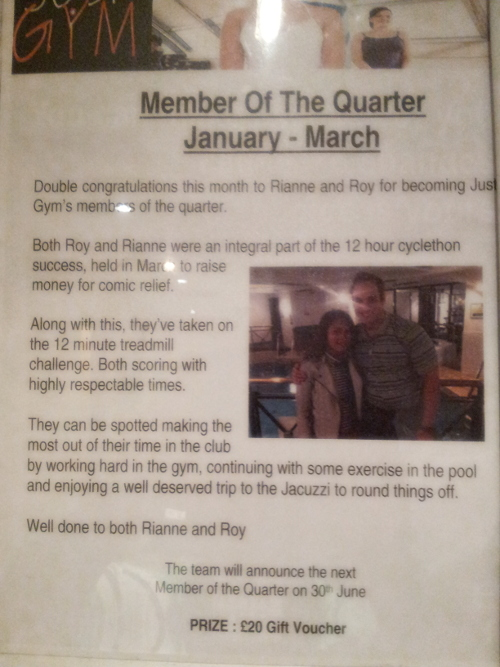Members of the quarter